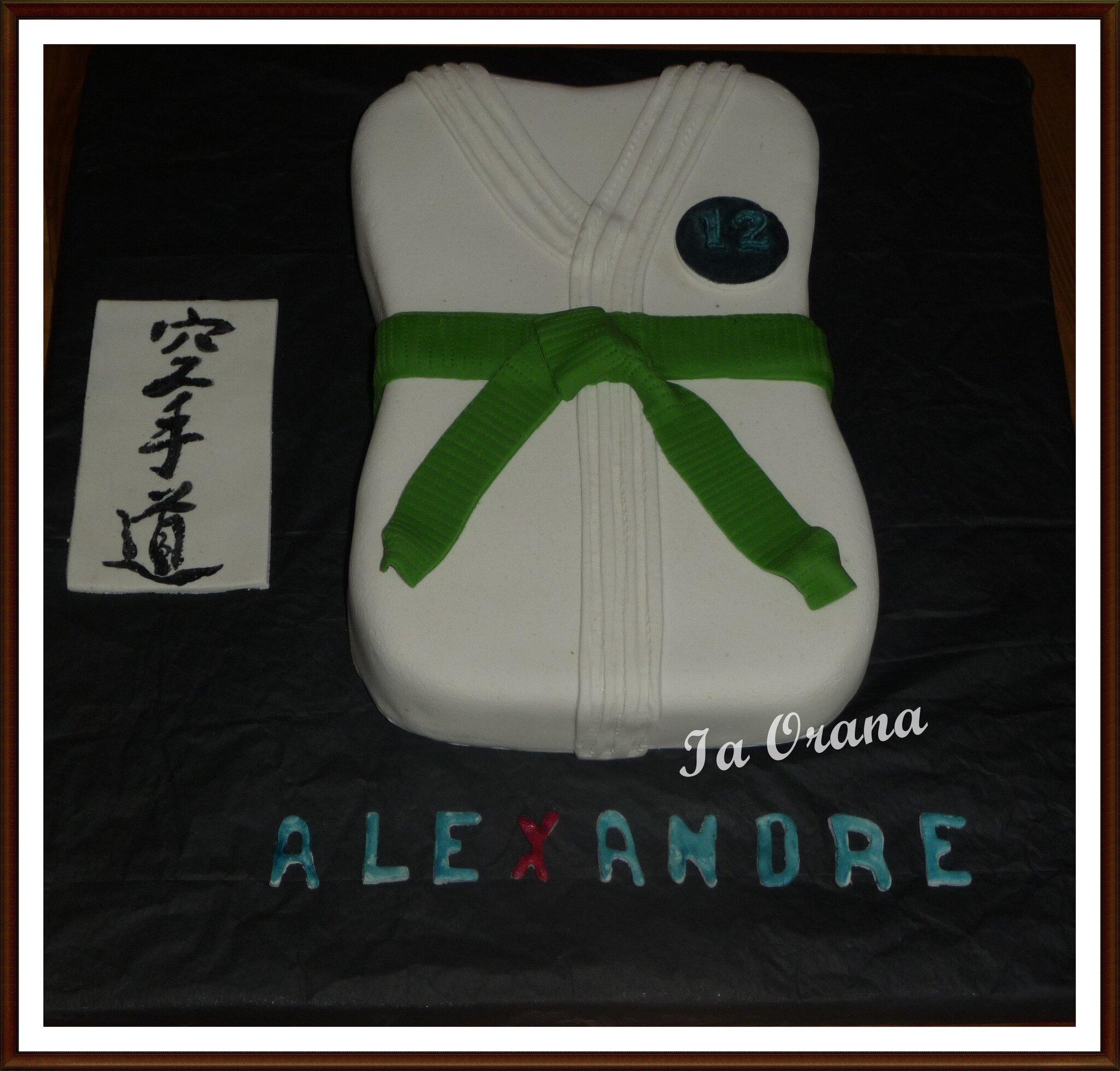 Gâteau judogi / Judogi cake
