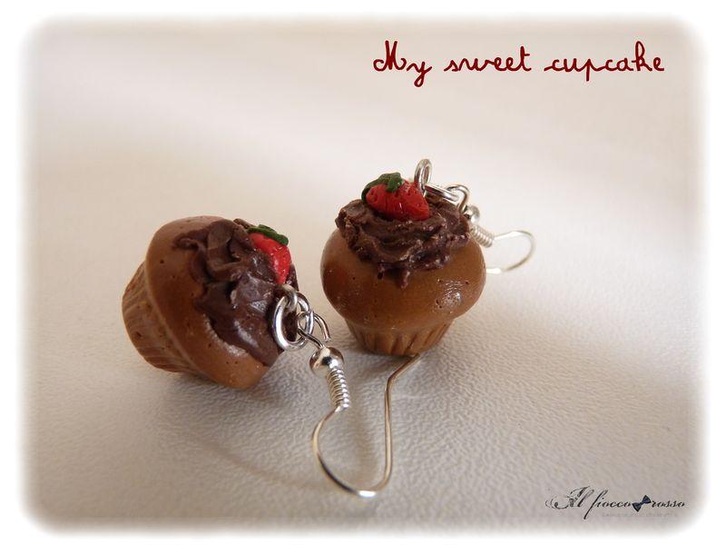Boucles chocolat fraise