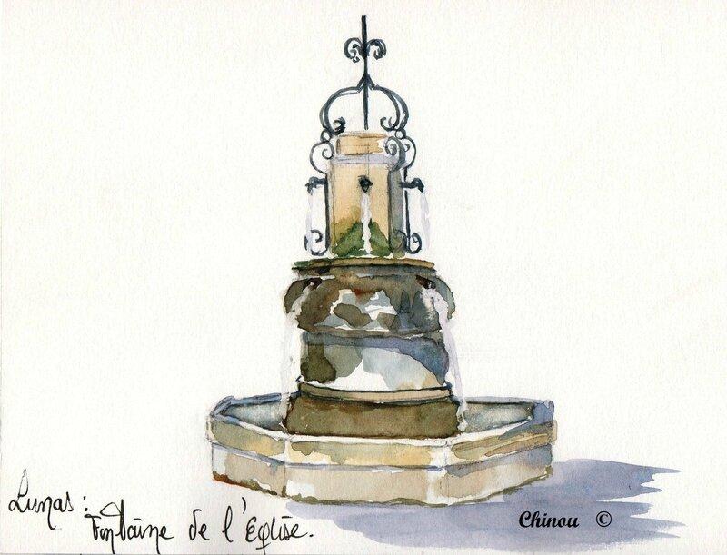 Lunas Fontaine de l'église