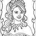 Coloriages princesses