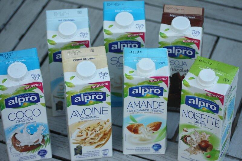 gamme lait vegetaux alpro blog chez requia cuisine et confidences