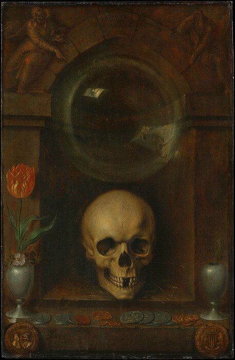 Jacques de Gheyn the Elder, Vanitas Still Life, 1603