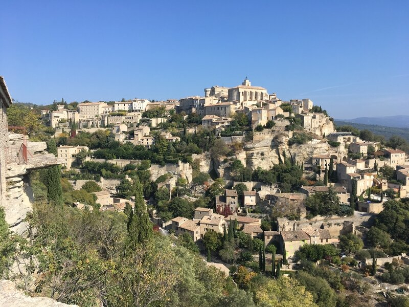 Le beau village de Gordes