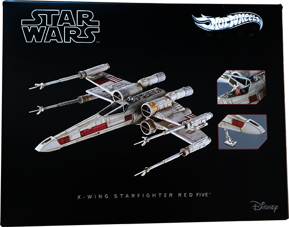 x-wing hotwheel elite box 0