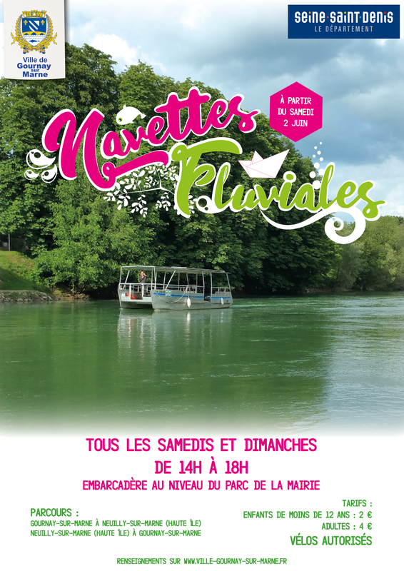 affiche navettes fluviales