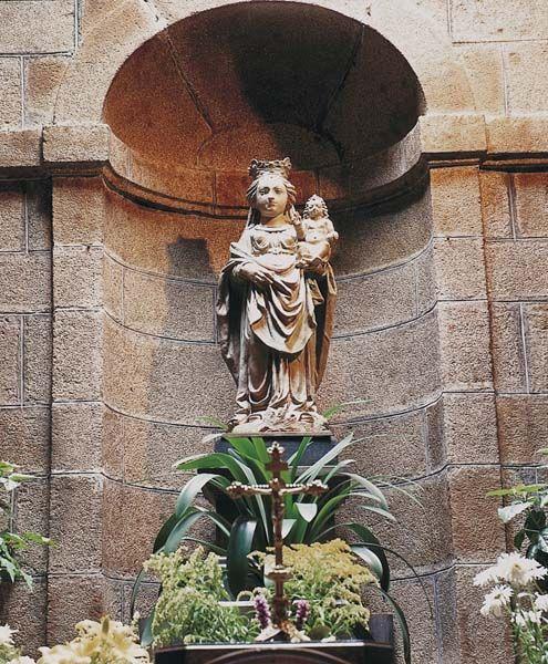 Fougères, chapelle ND de Bon Secours, ND de Bon Secours
