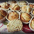 Petits muffins végétaliens au citron