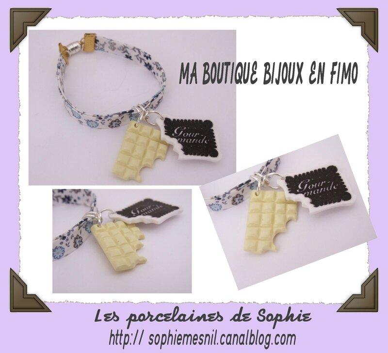 Bracelet 100% GOURMANDE