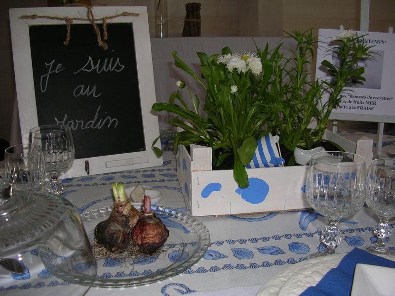 TABLE esprit jardin 007