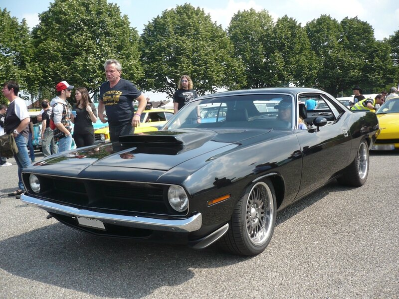 PLYMOUTH Barracuda 'Cuda 2door hardtop 1970 Illzach (1)