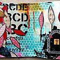 Mixed media : atelier mensuel art journal