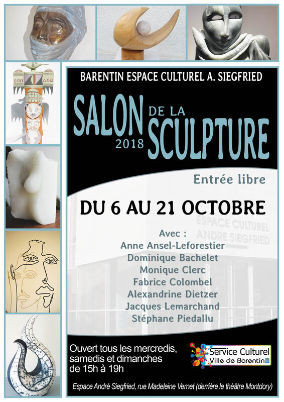 AFFICHE SALON SCULPTURE 2018