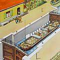 Collection ... affiche scolaire la gare de marchandises / le canal