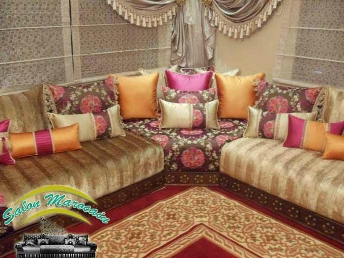 Salon / comment s\'équiper par un salon marocain traditionnel 2017 ...