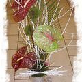 Composition Anthuriums
