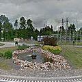 Rond-point à ljungby (suède)