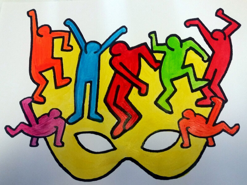 350-MASQUES-Masque Keith Haring (17)