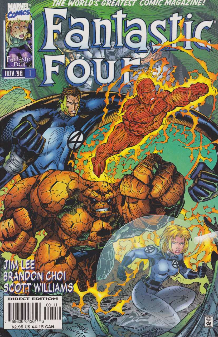 Marvel Heroes Reborn Fantastic Four / Invincible Iron Man