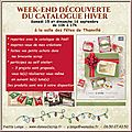 Portes-ouvertes catalogue hiver stampin'up