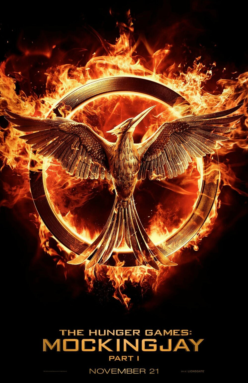 Mockingjay Hunger Games 3 movie poster