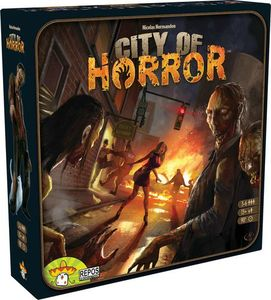 Boutique jeux de société - Pontivy - morbihan - ludis factory - City of horror2