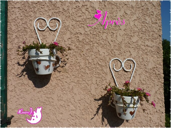 supports mureaux coeurs