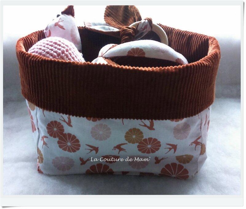 Box cadeau de naissance aux hirondelles