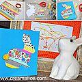 ❀ ✄ diy carte lapin pâques masking tape / diy easter bunny card with washi tape ✄ ❀