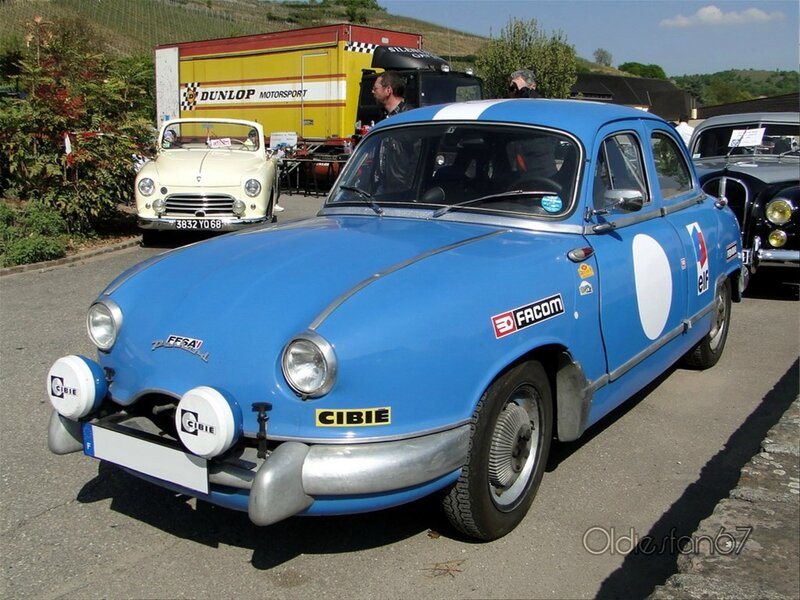 panhard dyna z berline version rallye 1954 1956 a