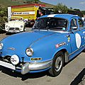 Panhard dyna z berline version rallye - 1954 à 1956