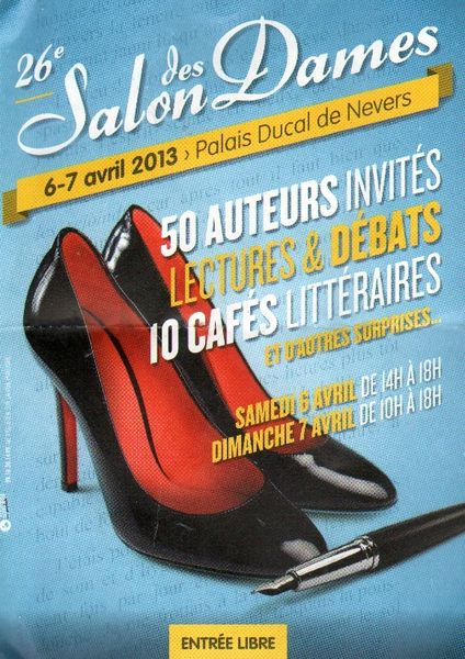 affiche salon dames