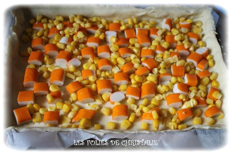 Quiche surimi maïs 3