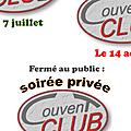 Soirées privées au couvent club