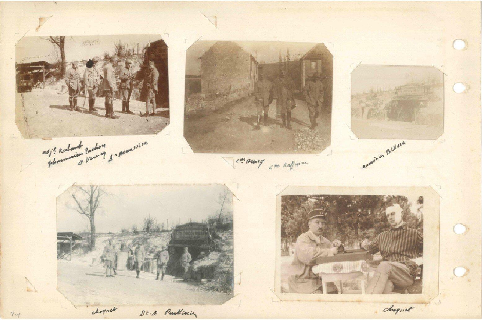 p.201 Secteur de Champagne 74e RI (14 mars – 25 mai 1918)