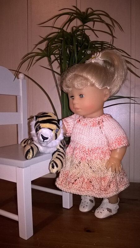 20210429 Anya dans sa nouvelle robe modèle Béa