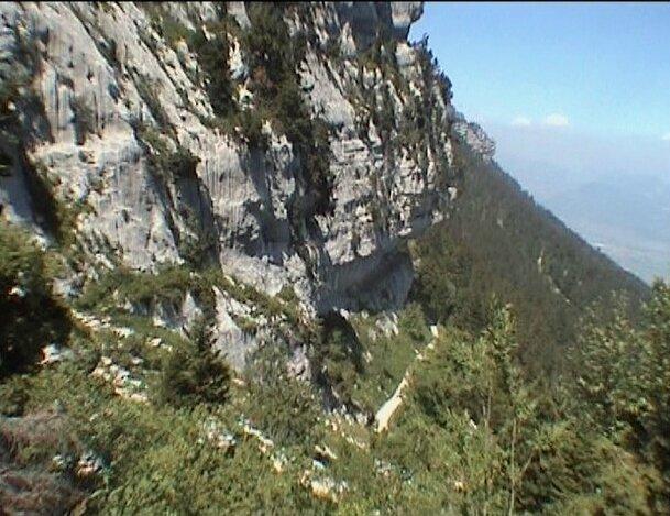 sous le col de l'Alpe