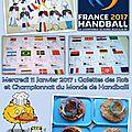 Plaquette Handball et Galettes 11-01-2017