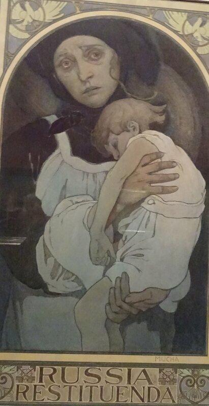 Mucha 1922 affiche