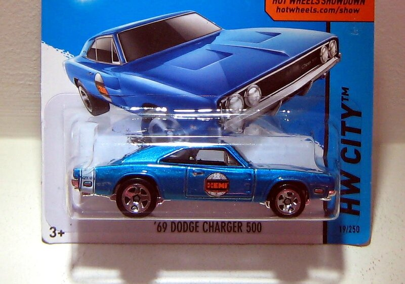 Dodge charger 500 de 1969 (Hotwheels 2015)