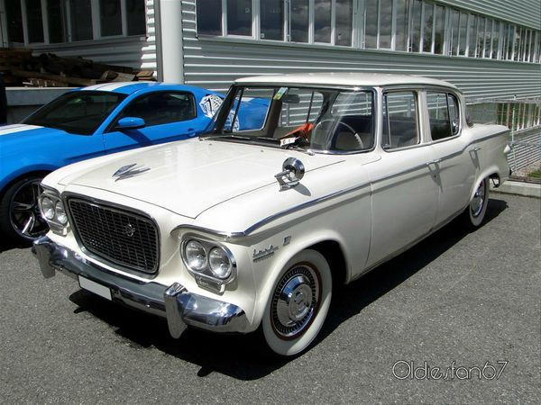 studebaker lark VI cruiser 4door sedan 1961 a