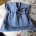 Robe layette bébé modèle LINA taille 3 mois prix 16€