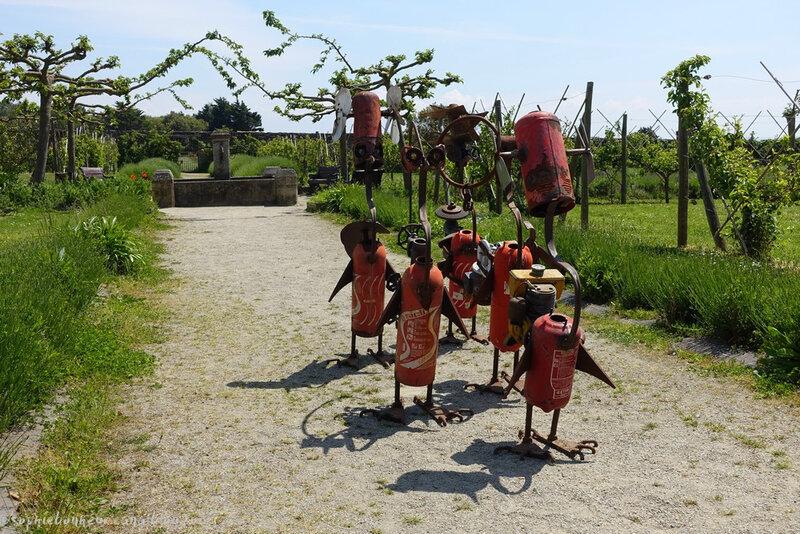 LFAB sculptures porteurs