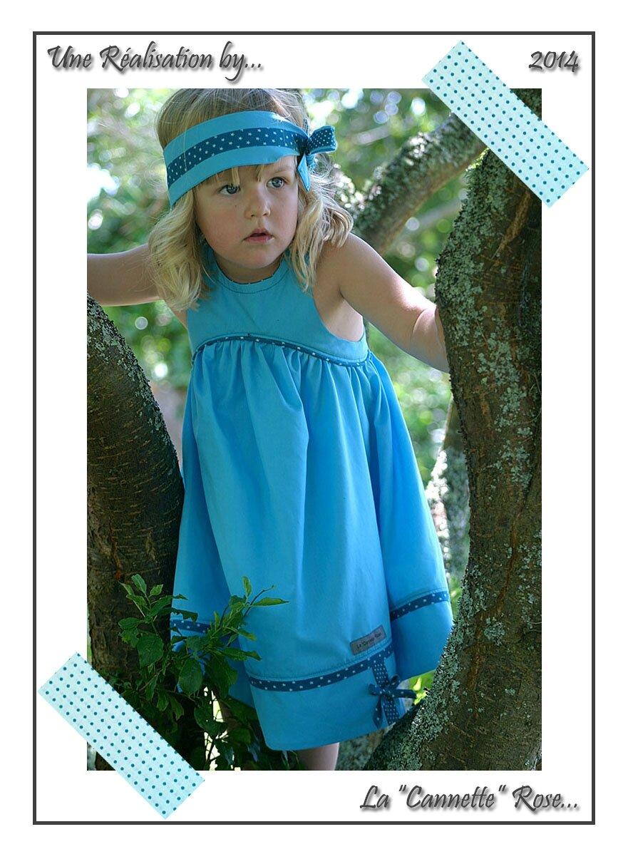 Robe Bleue Juliette 07