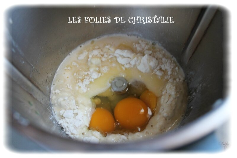 Clafoutis pêches 4