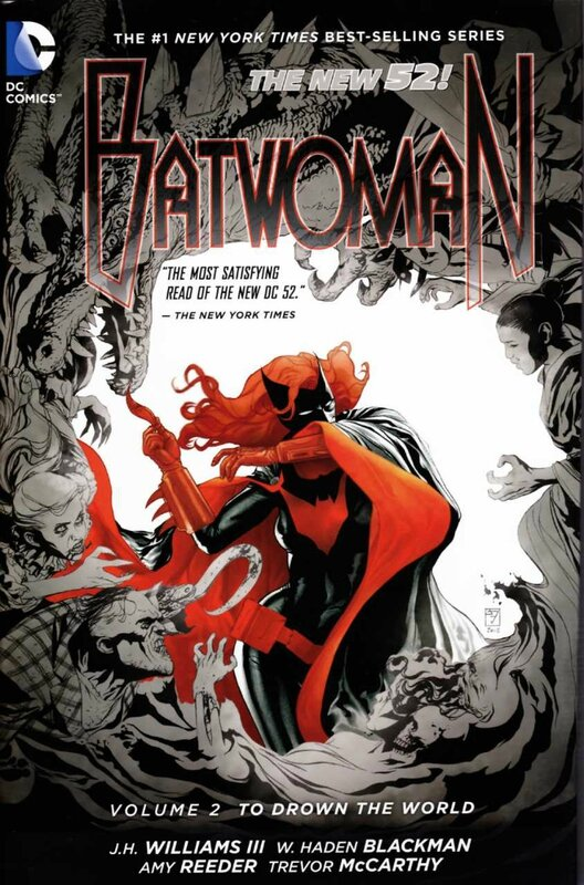 batwoman vol 2 to drown the world TP