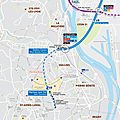 Lyon : début des travaux d'extension du métro