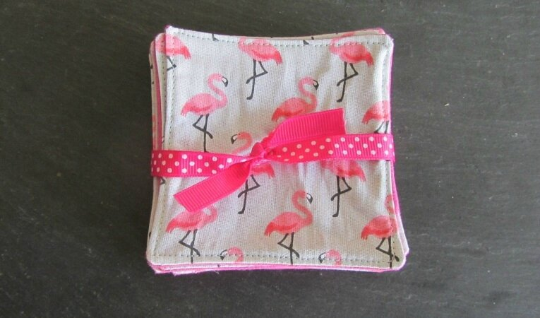 lingettes flamands rose