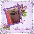 Sel de bain fleurs de mauve