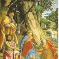 Gerolamo DAI LIBRI - Nativité aux lapins
