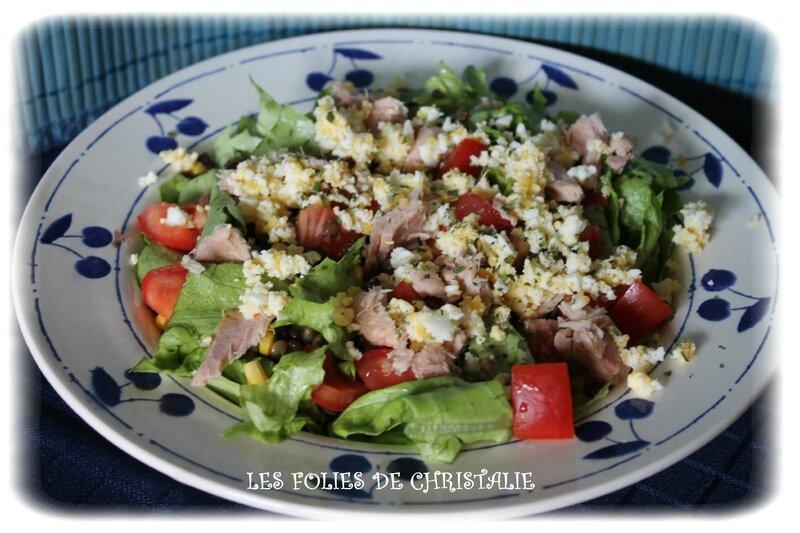 Salade de lentilles au thon 4